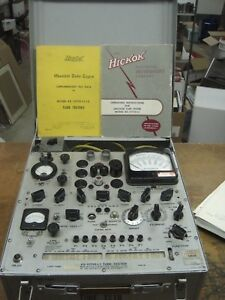 Western Electric Ks15750 l1 Tube Tester Serial 484 Working Hickok