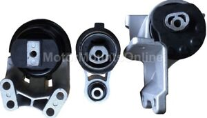 9m1151 3pc Motor Mounts Fit Non Turbo Engine 2010 2012 Ford Taurus Lincoln Mks