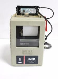 Isco 4220 Submerged Probe Flow Meter W Isco Model 913 High Capacity Power Pack
