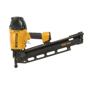 Bostitch Industrial F21pl 21 2 To 3 1 2 Pneumatic Industrial Framing Nailer