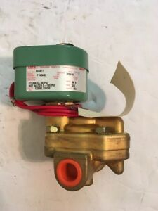 Asco Redhat Steam And Hot Water Solenoid Valve 822071 rack2
