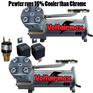Air Compressors 480 Voltairmax 200 Psi 150psi Switch Air Ride Suspension Horn