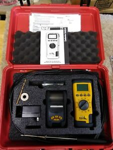 Uei Eagle C75 Combustion Analyzer Kit With Printer Probe With Case Complete