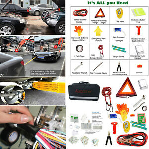 Useful Roadside Emergency Kit Auto Set Tool Bag Vehicle Safety Kit Portable Sos
