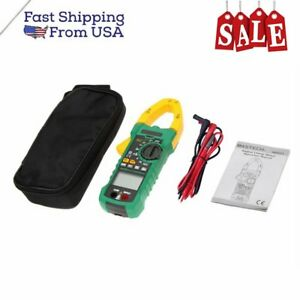 Mastech Digital Clamp Multimeter Ms2015a Ac Dc Voltage Meter 1000a 6000 Counts X