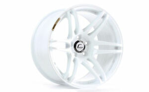 Cosmis Racing Mrii 18x9 5 15 18x10 5 20 5x114 3 White Staggered set Of 4