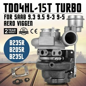 Saab Td04hl 15t Upgrade 9 3 2 3l 9 5 2 3t Aero B235r B235l B205r Turbo Charger