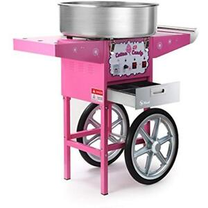 Candy Making Supplies Hawk Commercial Quality Cotton Candy Machine Cart Electric