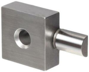 Mitutoyo 619071 Half Round Jaw For Square Gage Block 4 95mm Radius 5mm Length