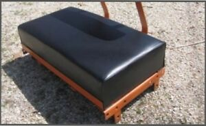 Allis Chalmers B c Seat Cushion Smooth Black Or Orange