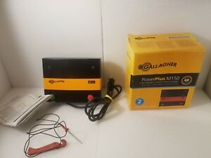 Gallagher Power Plus M150 Low Impedance Electric Fence Energizer Used