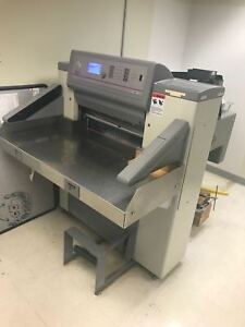 Polar 66 Paper Cutter 2003 With 3 Blades Tool Kit And Manuals