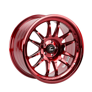 Cosmis Racing Xt206r 18x9 33 5x100 Hyper Red set Of 4