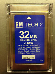 Suzuki Tech 2 Memory Card 32mb 01 262 025 1996 2008 Tech2 Diagnostic Scanner Tis