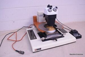 Rk Rucker Kolls 666 Wafer Probe Station With Bausch Lomb Stereo Microscope