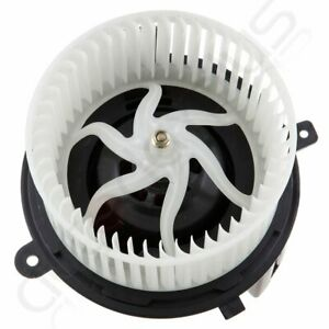Abs Plastic For Buick Chevrolet Gmc Saturn Hvac Heater Blower Motor Fan Front