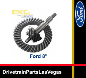 Ring Pinion Gear Set Ford 8 3 80 Ratio Richmond Excel 50 000 Mile Warranty