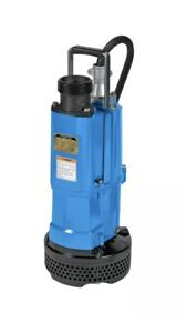 Used Tsurumi Nk2 15 3 Electric Submersible Sump Pump 1 2hp