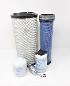 Case Sv300 Skid Steer W 432t m3 Engine Maintenance Filter Kit Sc
