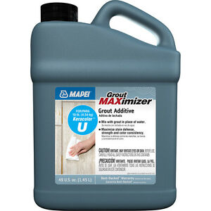 Mapei Stain Resistant Easy To Clean Surface 49 fl Oz Clear Grout Additive