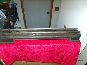 Vintage Lathe Bed109 Metal Lathe Bed Sears Craftsman Dunlap