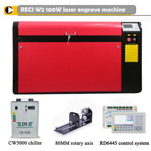 Color Separation Working Of Dsp Ruida System 100w Laser Cutter Engraving Machine