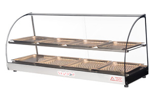 Commercial Countertop Food Warmer Display Case 44