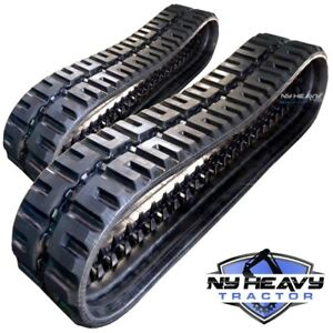 Two Duroforce Rubber Tracks C lug Style For John Deere Ct322 450x86x52 17 7