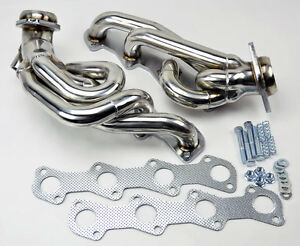 Ford F150 F250 Expedition 97 03 5 4l V8 Shorty Performance Headers Exhaust