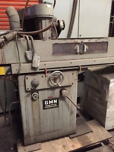 Gmn Georg Muller Rotary Surface Grinder Marposs