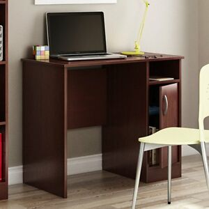 South Shore Axess Collection 35w In Small Desk Royal Cherry Royal Cherry