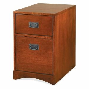 Martin Furniture Mission Pasadena Rolling File Cabinet