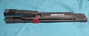 Stanley Bostitch Long Reach Stapler 12 Inch 20 Sheet Capacity Black Euc