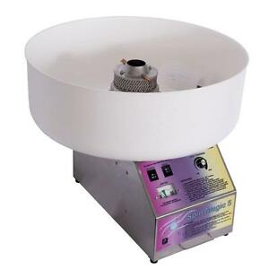 Spin Magic 5 Commercial Cotton Candy Maker Sugar Floss Machine Carnival Electric