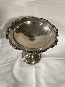 Gorham Rondo 1383 Sterling Silver Weighted Compote Candy Dish 5 5 8
