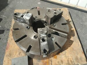 Gisholt 21 3 Jaw Manual Lathe Chuck Turning Lodge Shipley Oil Lathe