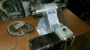 Cnc 4th Axis With 3 Jaw Chuck Seimens Servo Motor