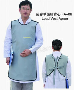Sanyi Flexible X ray Protection Protective Lead Vest Apron 0 35mmpb Blue Faa06 M