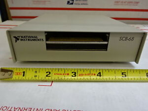 National Instruments Scb 68 Data Acquisition Module Board Box New In Box Tc 3 a