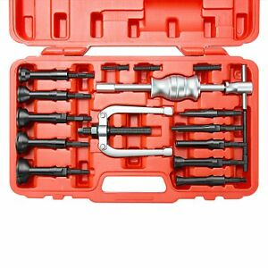 Bearing Puller Hole Remover Extractor Tools Slide Hammer Tool Kit