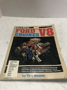 How To Rebuild Ford V8 Engine Manual Book 351c 351m 400 429 460 351 Block Monroe