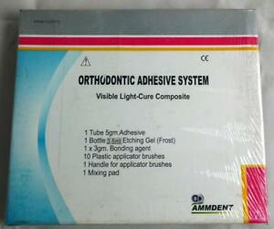Ammdent Light Cure Kit Orthodontic Adhesive For Dental Orthodontic Bracket