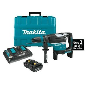 Makita Xrh07ptu 1 9 16 18v X2 Lxt 36v Sds max Rotary Hammer Kit With Aws