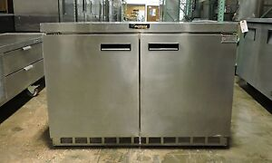 Delfield 4448n Commercial 2 Door Undercounter Refrigerator
