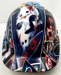 Hard Hat Custom Hydro Dipped Osha Approved Horror Show Scary New Sick