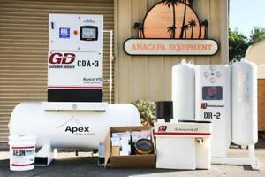 Gardner Denver Apexvs7 11a 15hp Compressor Tank Air Dryer Oil water Separator