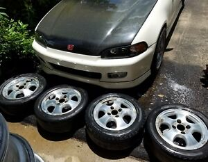 96 97 Honda Accord Se Alloy Wheels Rims 15 Oem 4x114 3