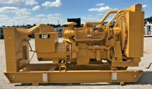 Caterpillar Very Good Used Tested 455kw 500kw Diesel Generator 2005yr