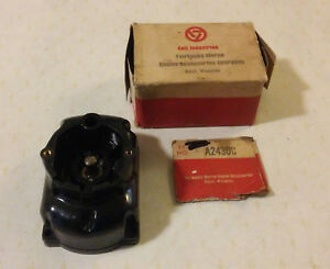 New Vintage Fairbanks Morse A2430c Magneto Distributor Cap Cover Nos Made In Usa