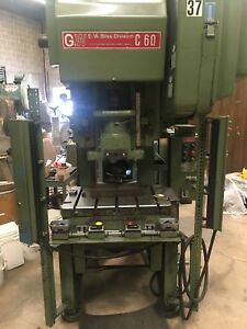 60 Ton Bliss Obi Punch Press